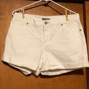 New York and Company denim shorts